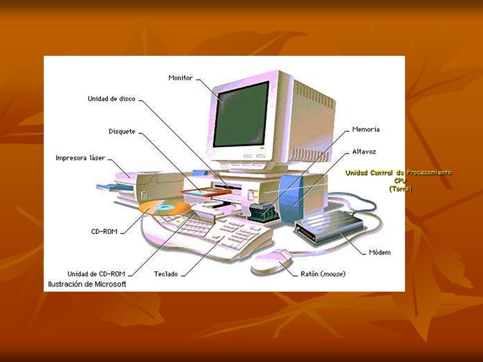 Permiten introducir datos al computador Presentan al usuario los datos ya elaborados.