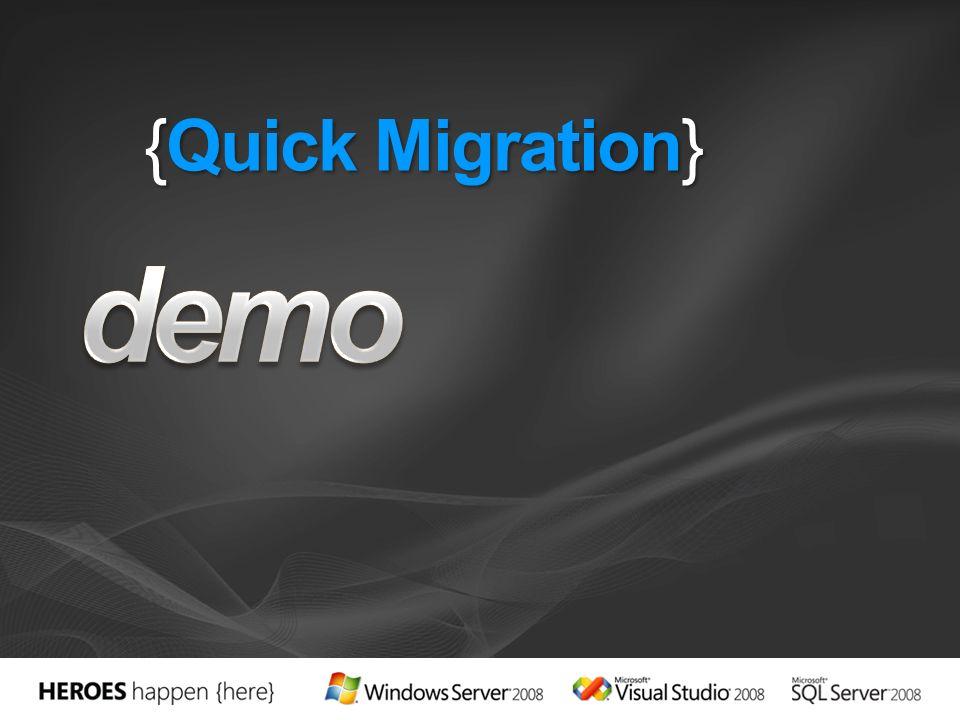 {Quick Migration}