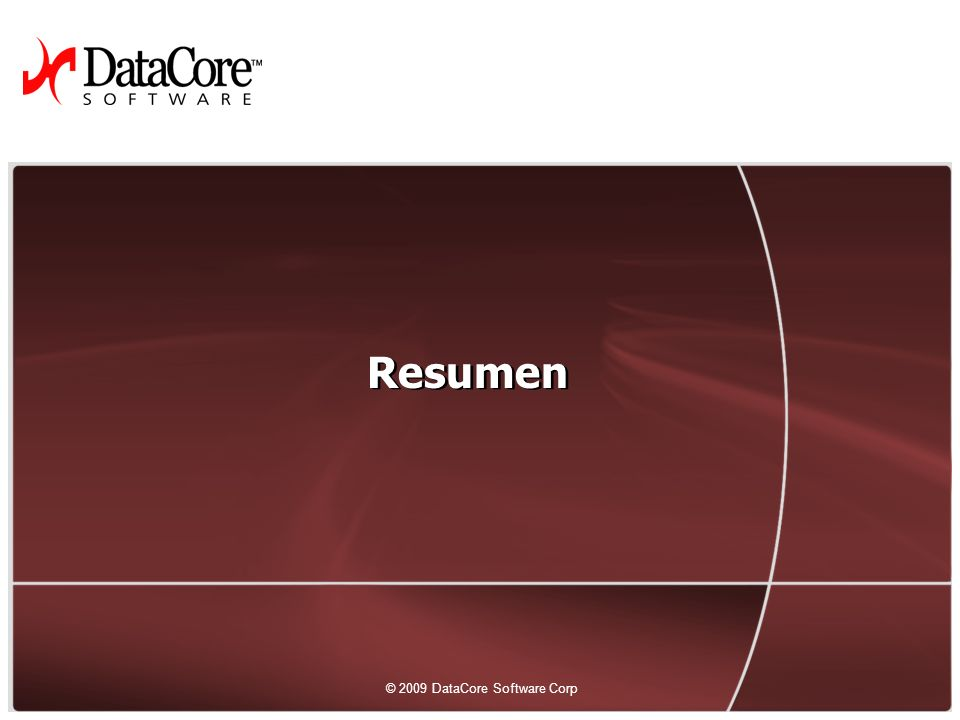 46 © 2009 DataCore Software Corp.