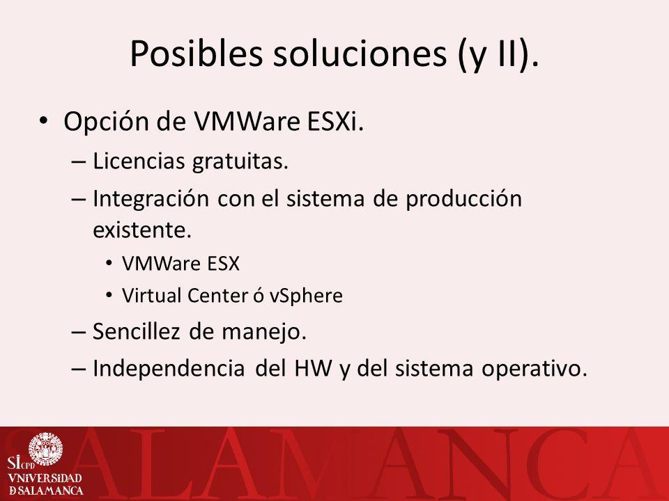 Configuración de las VMs (II).Delegación de servicios y permisos.