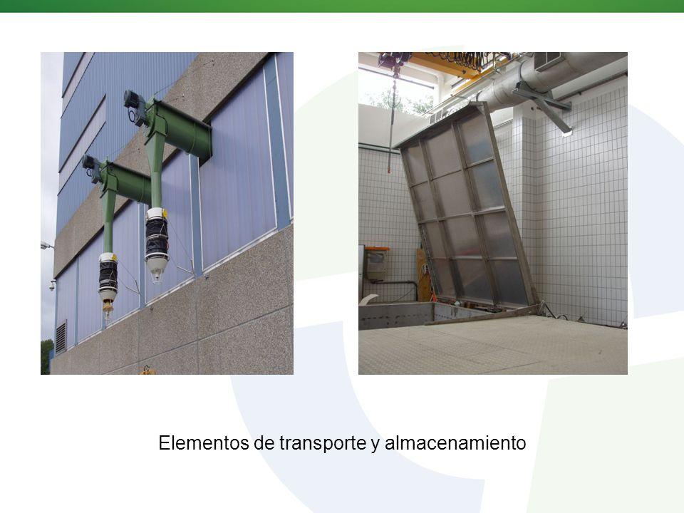 Elementos de transporte y almacenamiento