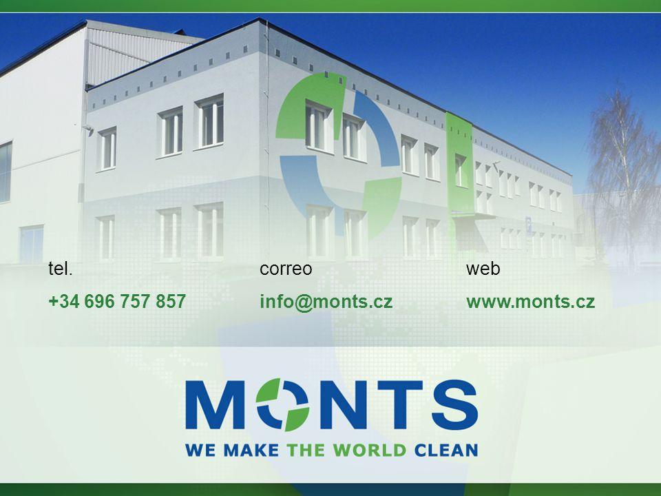 web www.monts.cz correo info@monts.cz tel. +34 696 757 857
