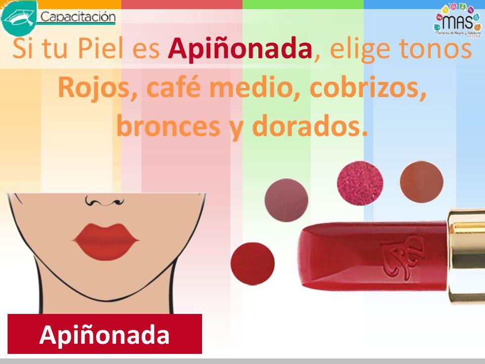 Morena Clara: Si tu Piel es Morena Clara, busca los tonos arena, palo de rosa y anaranjados.