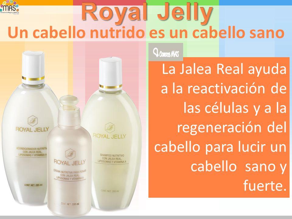 Para cuidar el cabello Con Jalea Real y Vitamina A que ayudan a nutrir y Suavizar la fibra capilar. ¡Nueva!