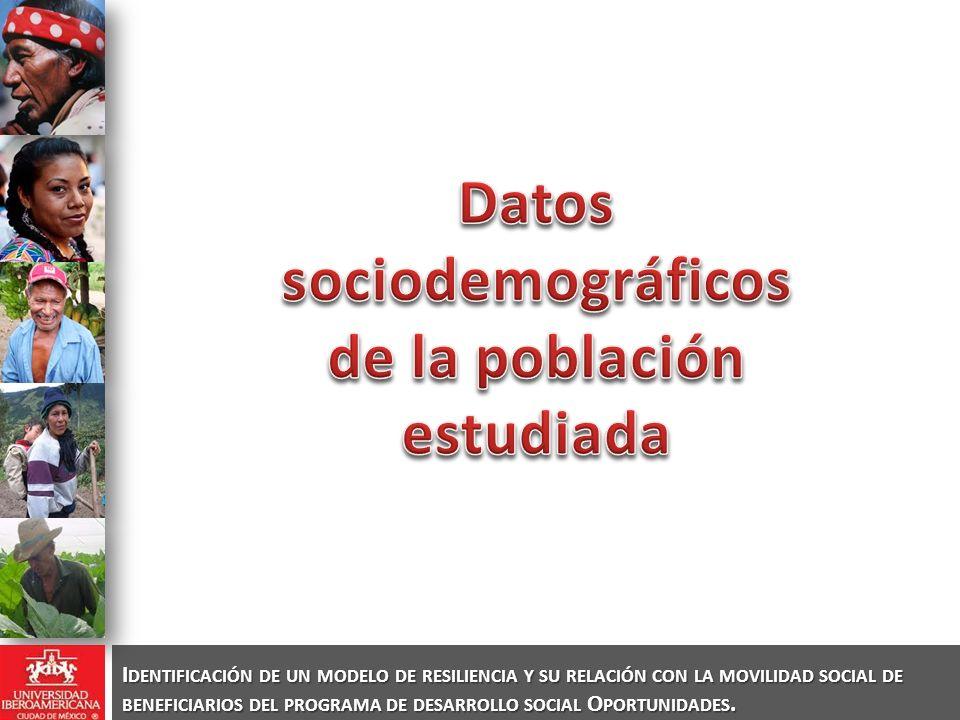 La escolaridad de los padres influye en la escolaridad de los hijos y la ocupación del padre influye en la ocupación del hijo.