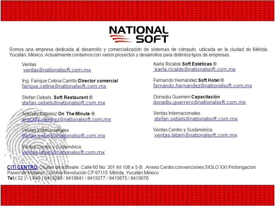 Somos una empresa dedicada al desarrollo y comercialización de sistemas de cómputo, ubicada en la ciudad de Mérida, Yucatán, México. Actualmente conta