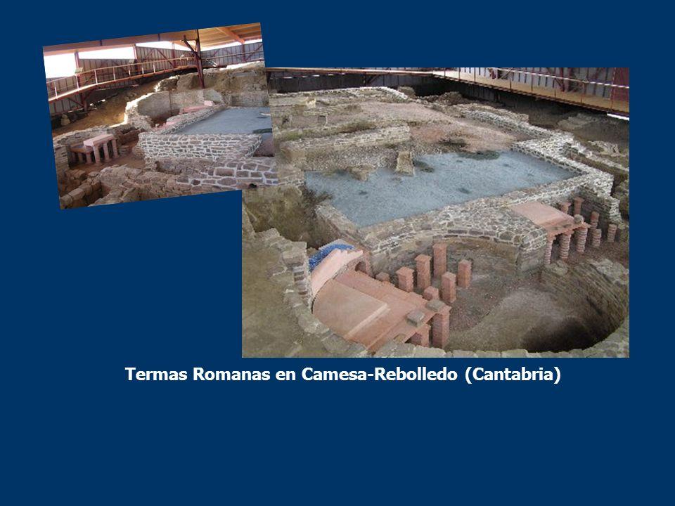 FLAVIÓBRIGA Los romanos encontraron un lugar propicio para establecer su Portus Samanum y sacar el hierro, el cinc y el plomo que extraían de las minas cántabras y así fundaron la ciudad de Flavióbriga (hoy Castro Urdiales).
