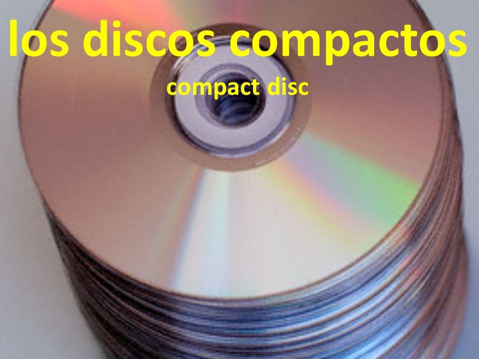 los discos compactos compact disc