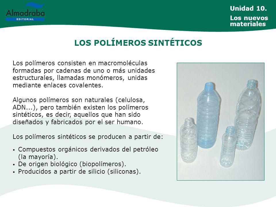 PRINCIPALES POLÍMEROS TERMOPLÁSTICOS politereftalato etileno (PET o PETE) Es el más utilizado de la familia de los poliésters y se produce a partir de petróleo.