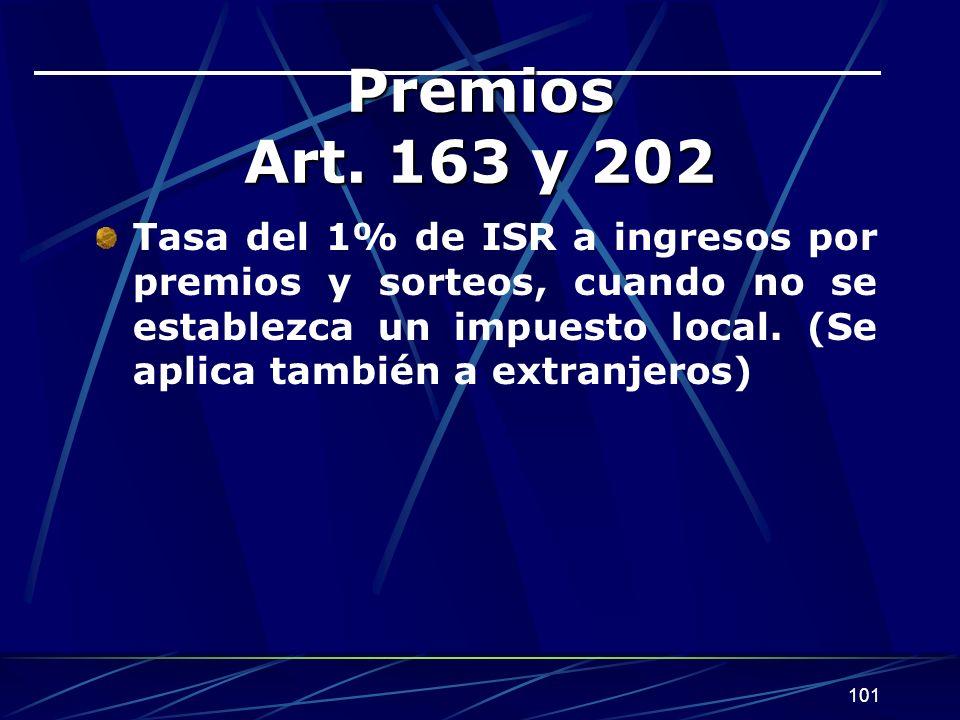 101 Premios Art.