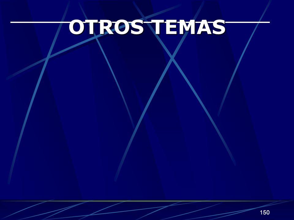 150 OTROS TEMAS