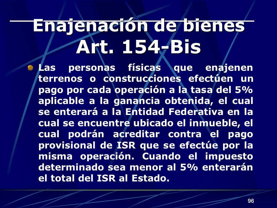96 Enajenación de bienes Art.
