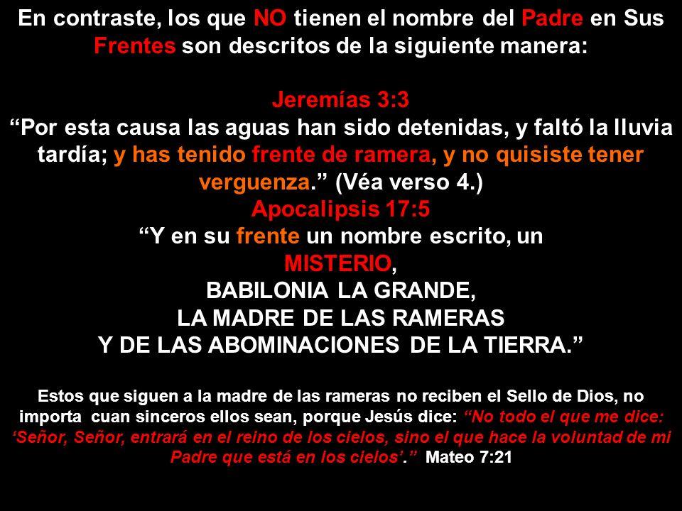 ¿QUIÉN? ¿CÓMO? EL CREADOR EL SÁBADO EL SELLO DE DIOS… En la Ley de Dios - Los Diez Mandamientos – Solo el Cuarto contiene el nombre del Padre – YHWH.