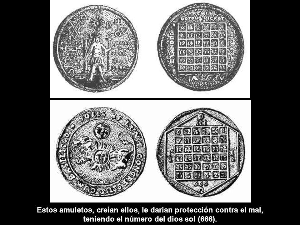 Cómo el número 3 era usado por los paganos: 1 + 2 + 3 = 6 1 x 2 x 3 = 6 1 3 + 2 3 + 3 3 = 36 6 x 6 = 36 ¿Habrá una conección entre 36 y 666?