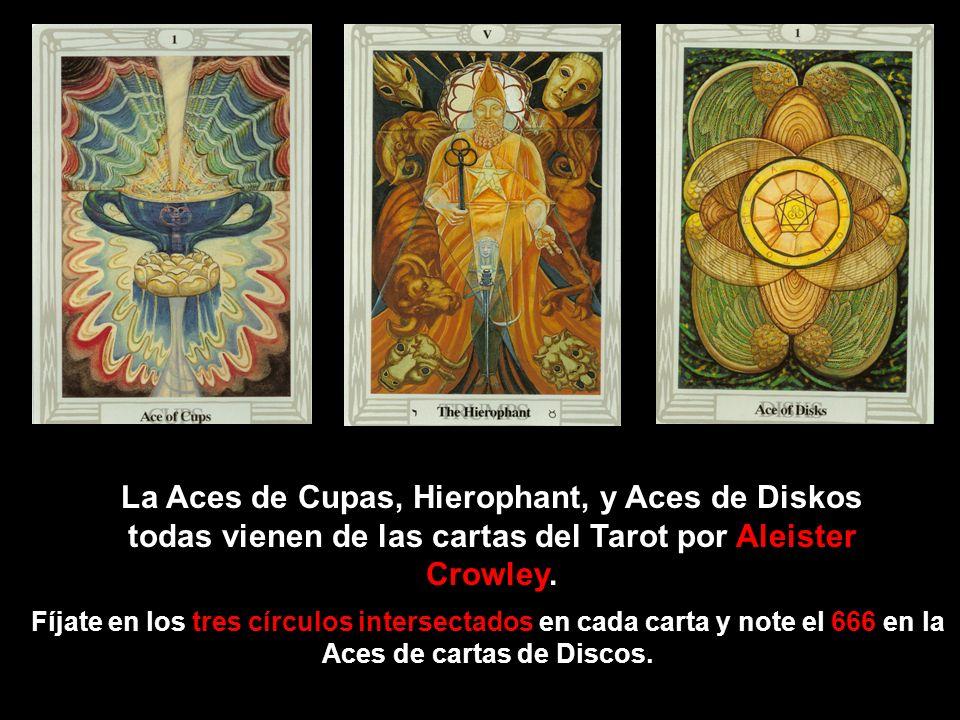 Aleister Crowley, conodido como un Satánico, Diseñó este set de cartas del Tarot.