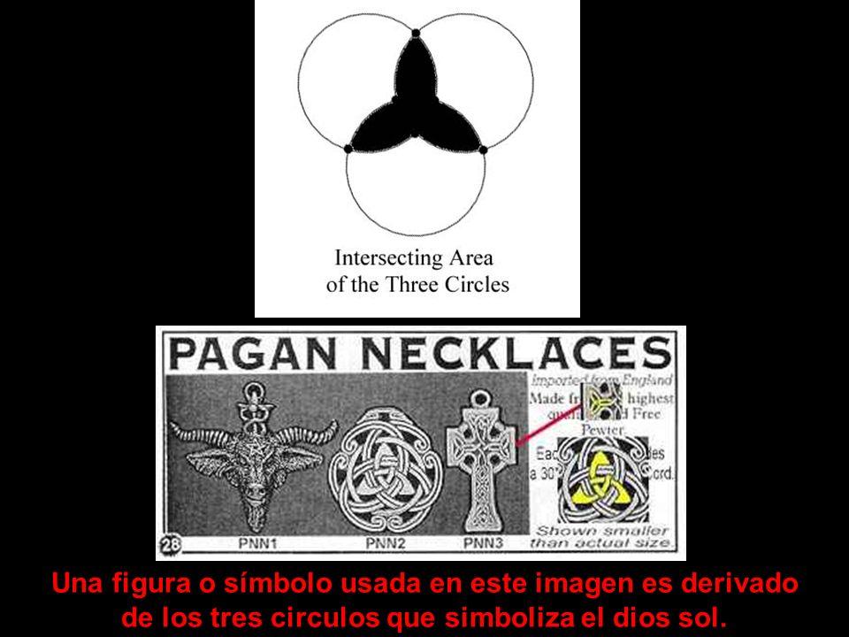 Estos son algunos de los detalles de las tres fases del dios solar que capturaron la atencion de los paganos. El numero tres es un numero mágico. Ello