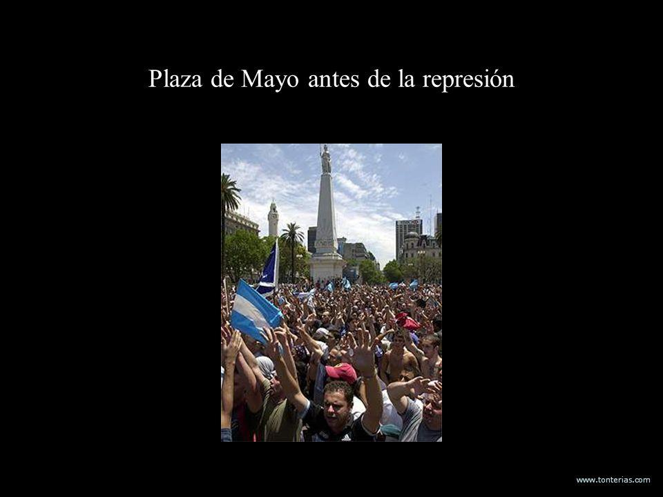 www.tonterias.com Plaza de Mayo antes de la represión