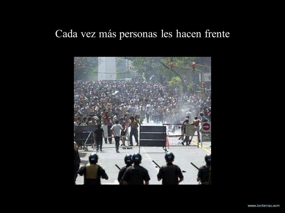 www.tonterias.com Cada vez más personas les hacen frente