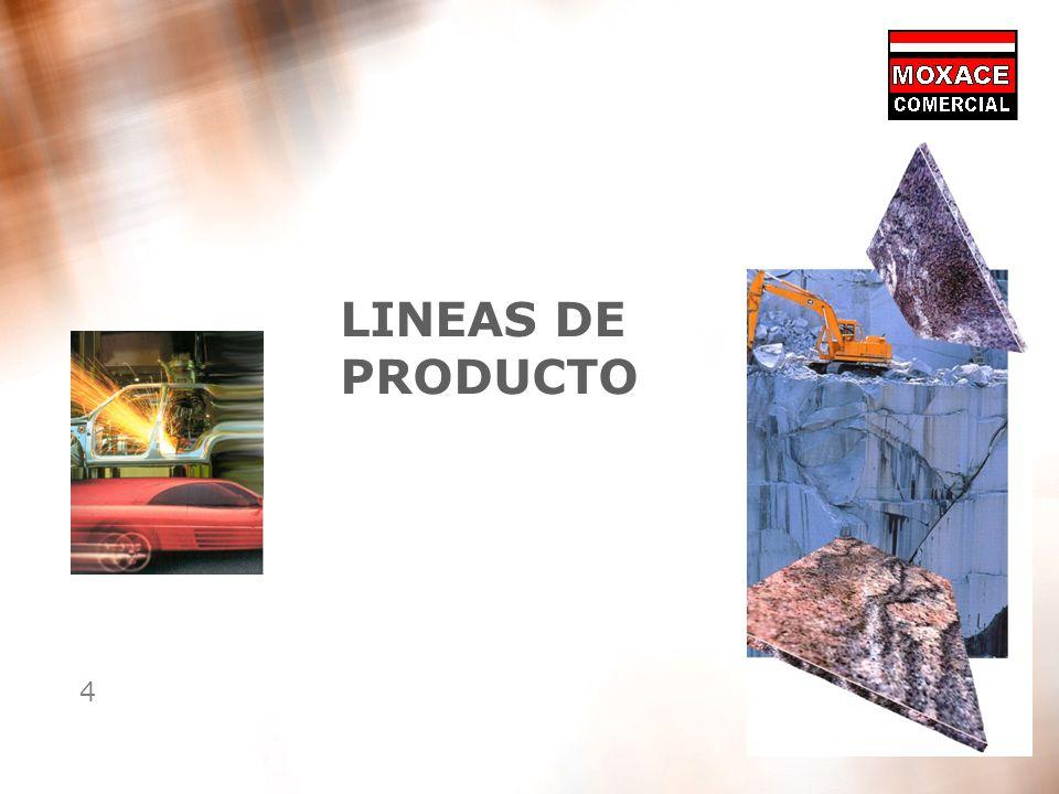 4 LINEAS DE PRODUCTO