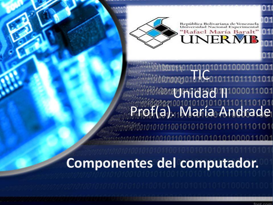 Los Componentes del Computador.