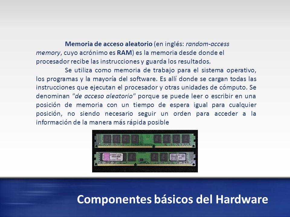 Componentes básicos del Hardware Las tarjetas de expansión son dispositivos con diversos circuitos integrados y controladores que, insertadas en sus correspondientes ranuras de expansión, sirven para ampliar las capacidades de un ordenador.
