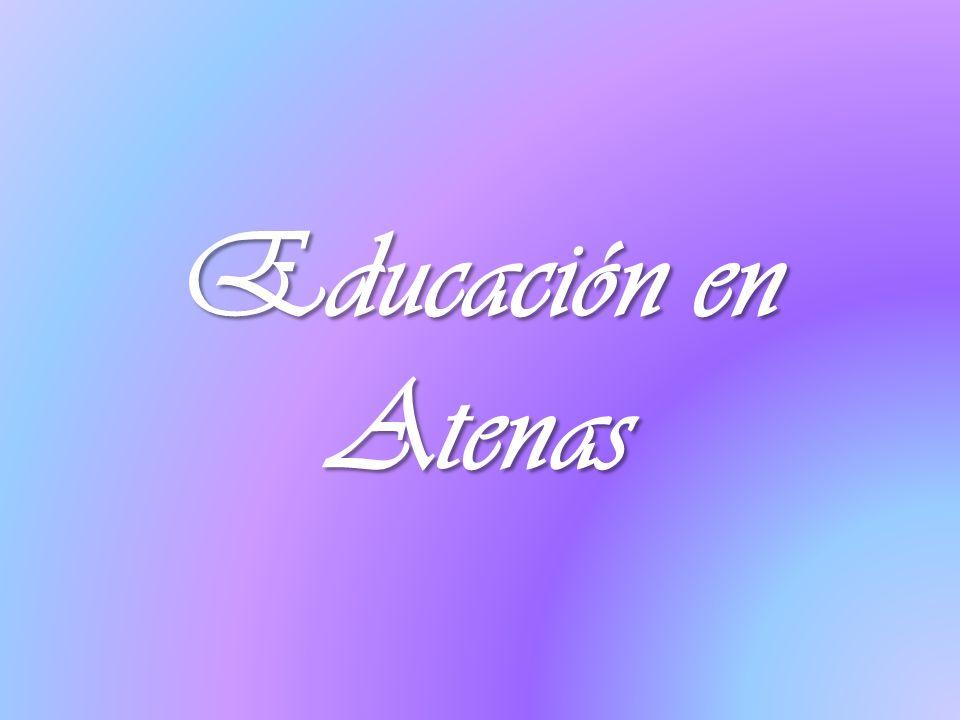 Educación en Atenas