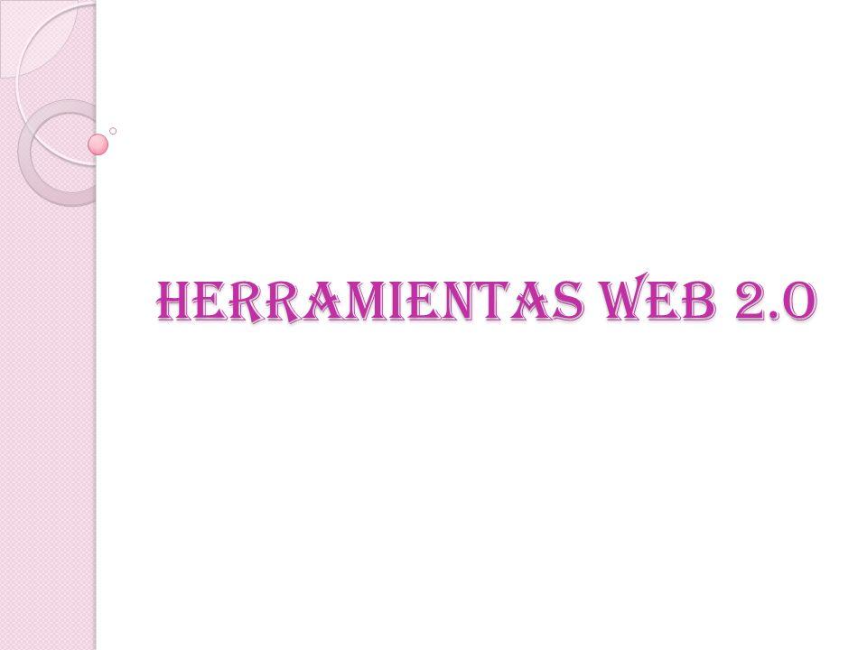 HERRAMIENTAS WEB 2.O