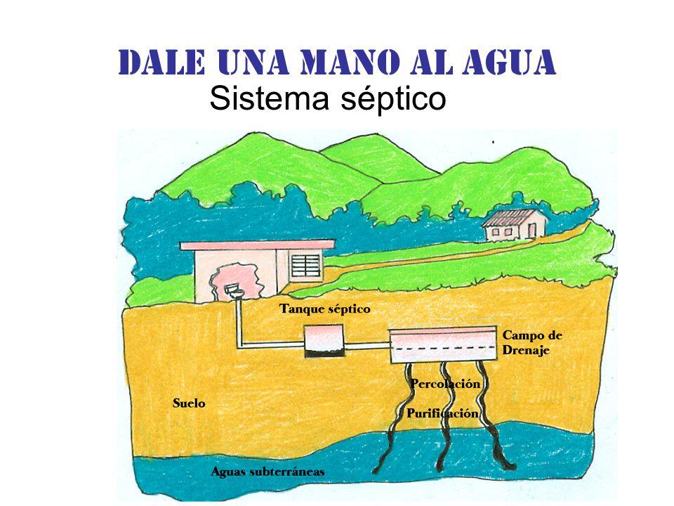 Dale una Mano al agua Sistema séptico