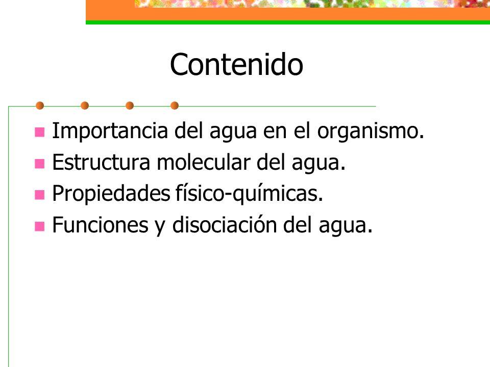 Propiedades Físicas y Químicas del Agua 4.