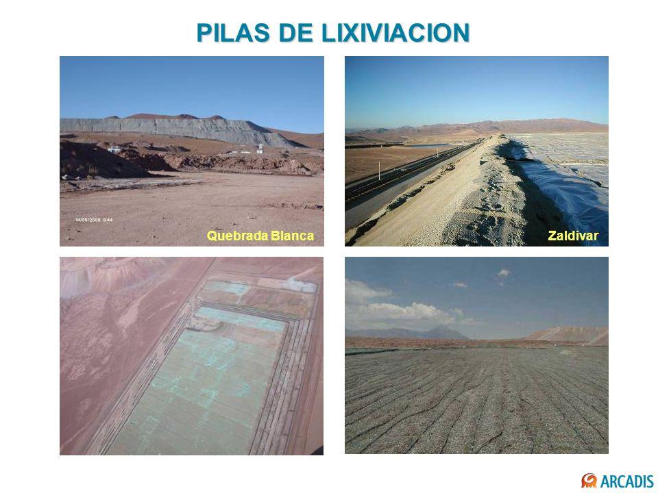 PILAS DE LIXIVIACION Quebrada BlancaZaldivar