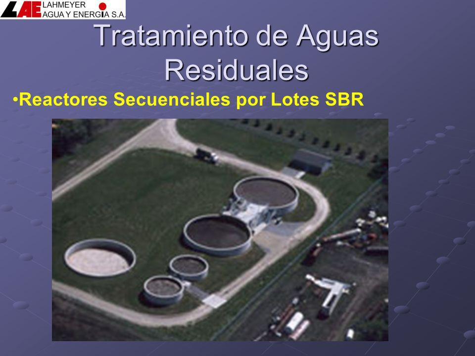 Tratamiento de Aguas Residuales Reactores Secuenciales por Lotes SBR