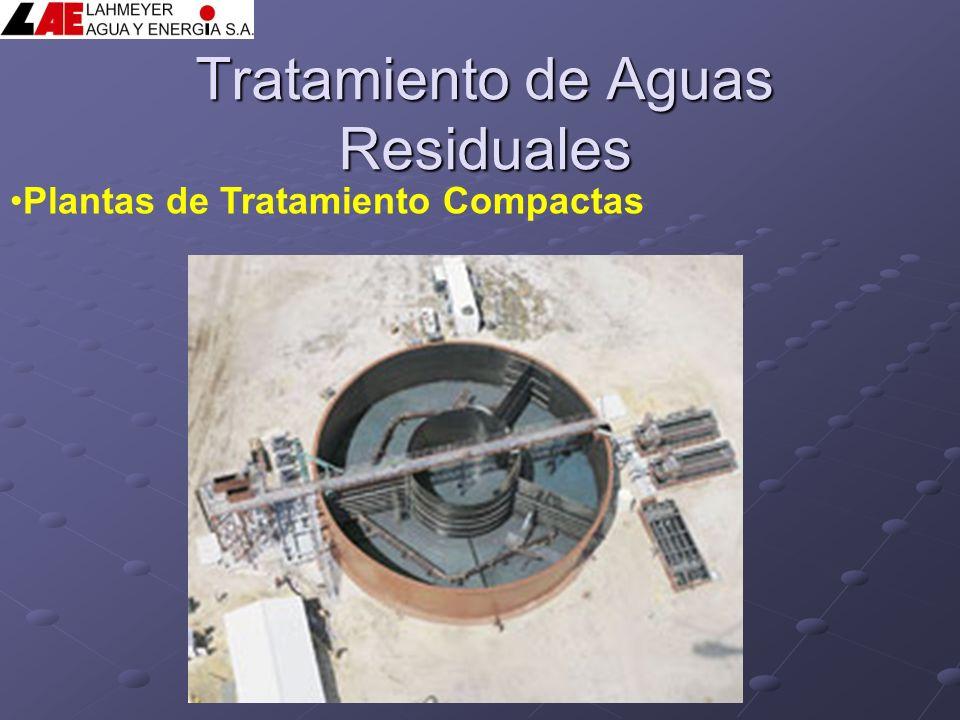 Tratamiento de Aguas Residuales Plantas de Tratamiento Compactas