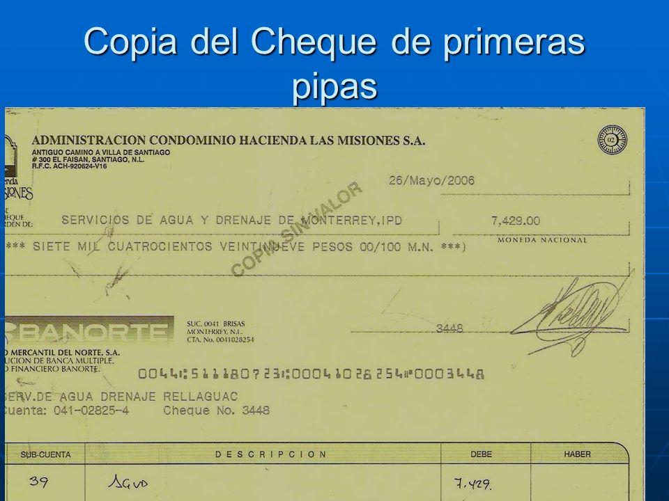 Copia del Cheque de primeras pipas
