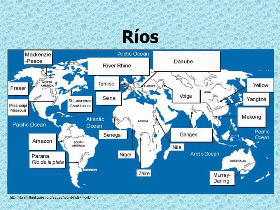 Ríos de Texas ¿Cerca de cuál río vives?