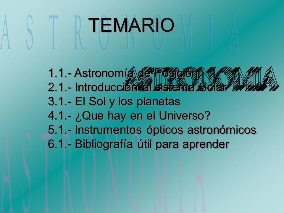 4.1.2 Las Estrellas Aunque la mayor parte del espacio que podemos observar está vacío, es inevitable que nos fijemos en esos puntitos que brillan.