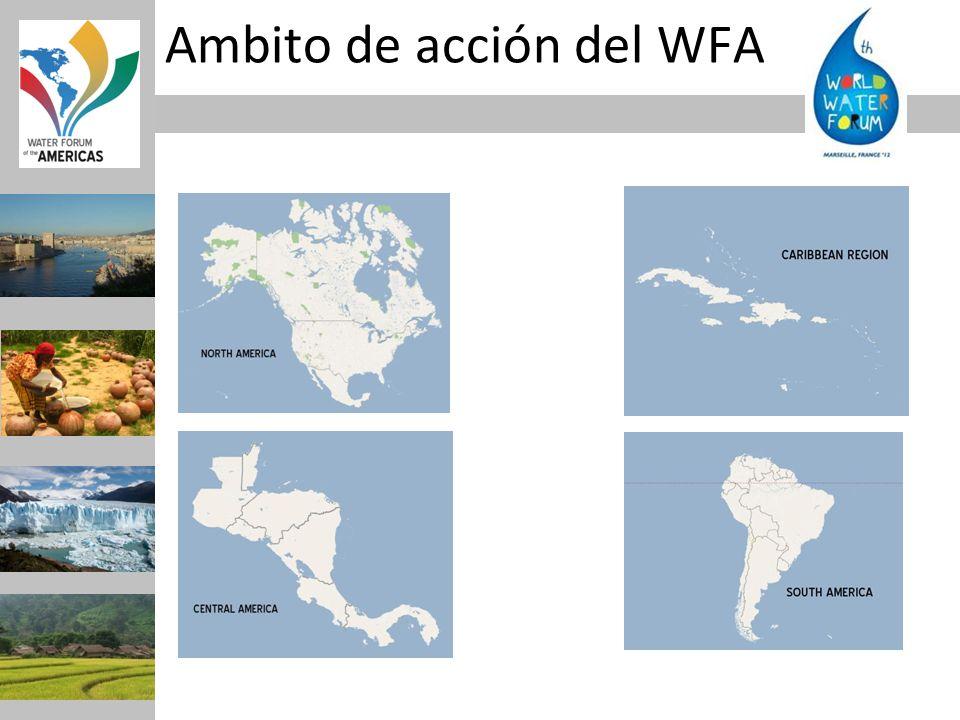 Ambito de acción del WFA