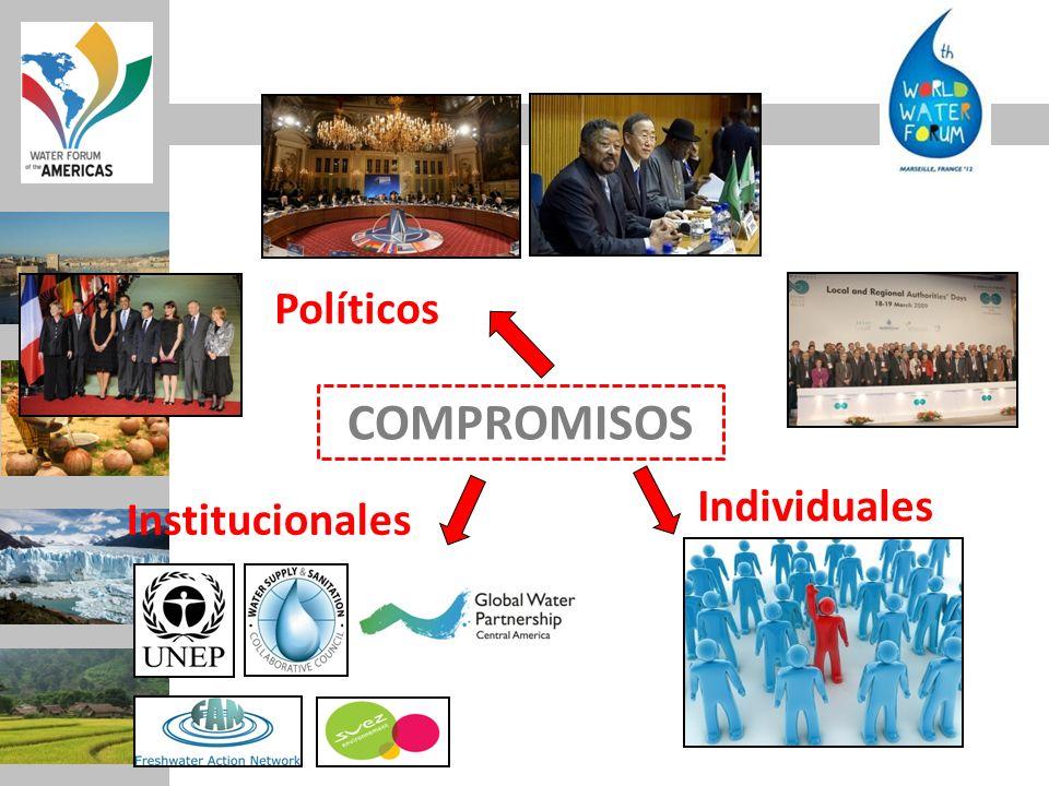 COMPROMISOS Políticos Individuales Institucionales