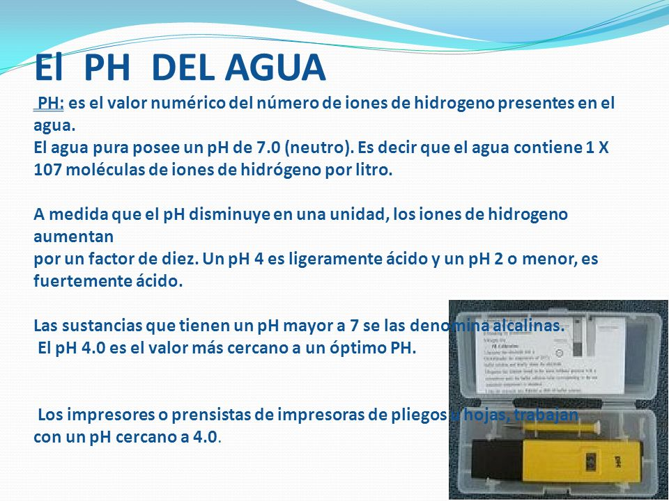 ALCALINIDAD: Es la capacidad de neutralizar la acides de una solución de fuente.
