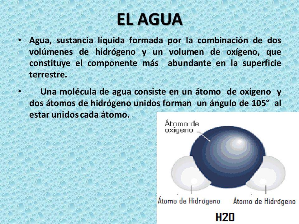 EL AGUA El agua se presenta en la naturaleza de diferentes maneras: cae como lluvia y forma arroyos, ríos, lagos y mares. También la vemos como nieve,