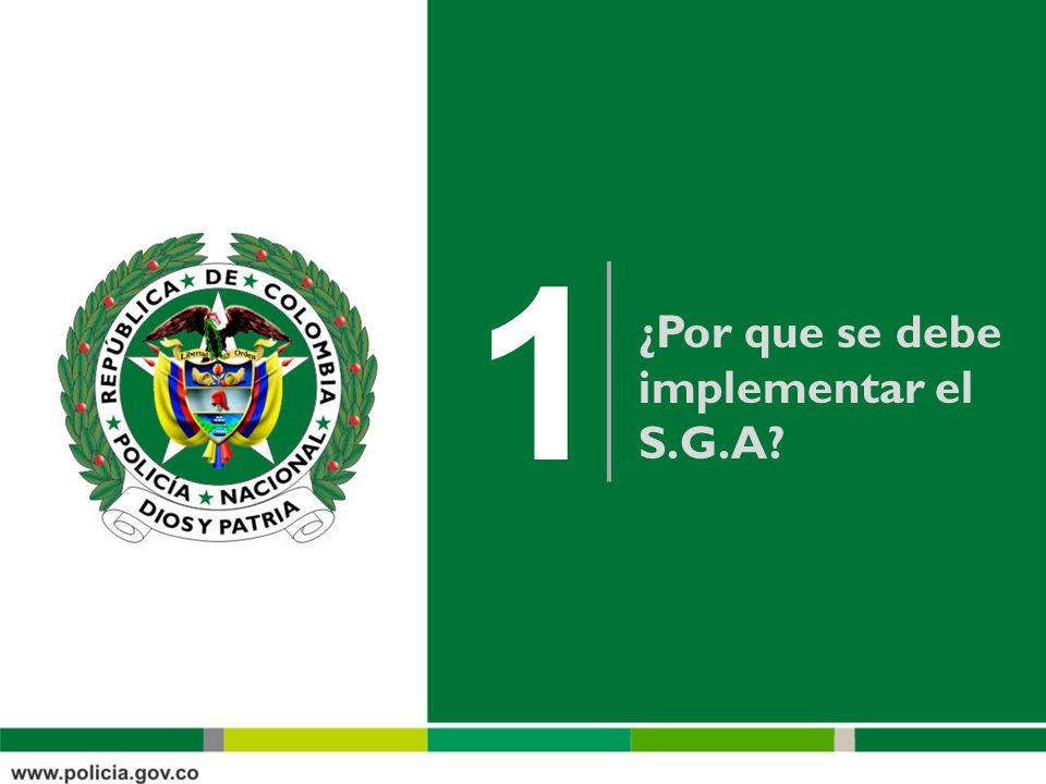 Oficina Asesora ¿Por que se debe implementar el S.G.A.