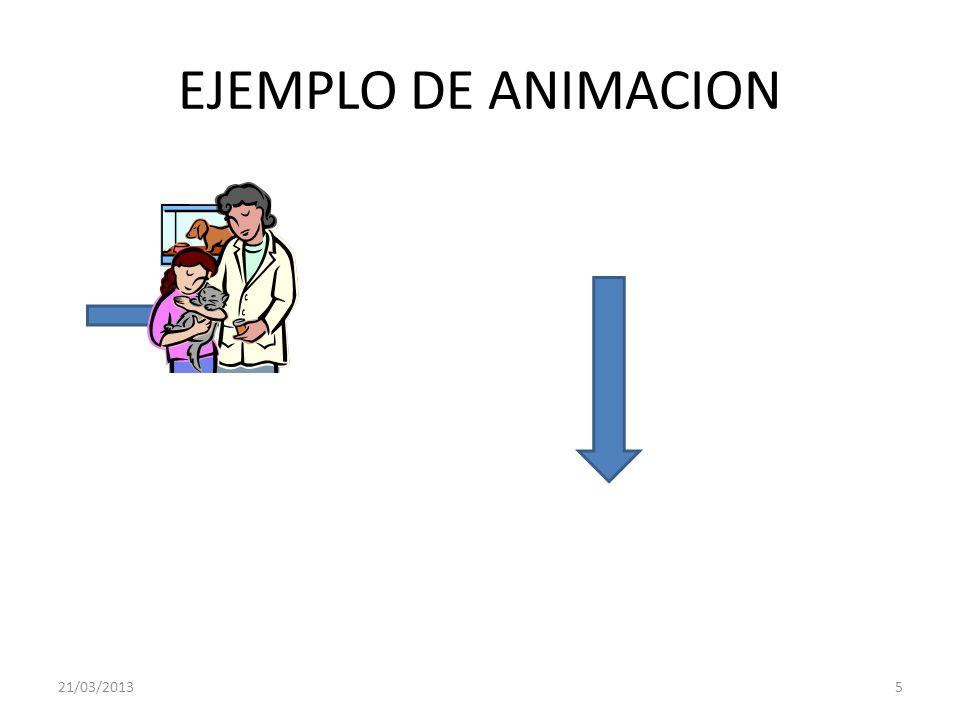 EJEMPLO DE ANIMACION 21/03/20135