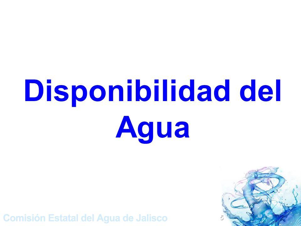 Disponibilidad del Agua 5