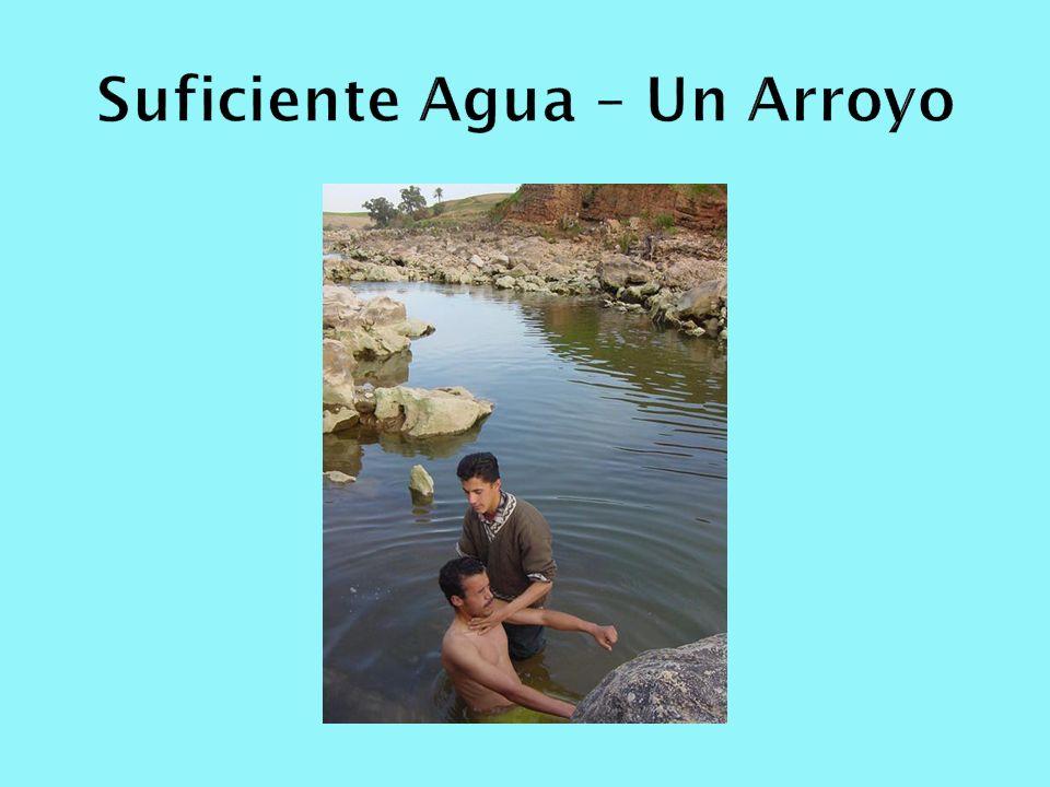 Suficiente Agua – Un Arroyo