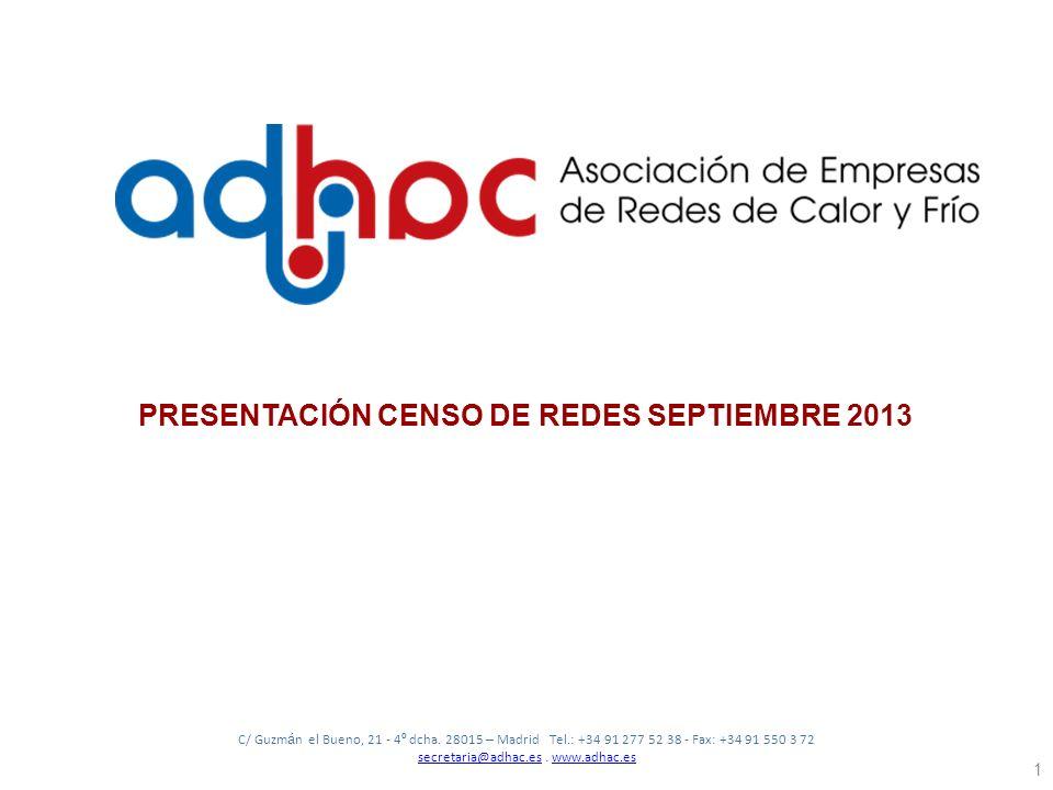 C/ Guzm á n el Bueno, 21 - 4 º dcha. 28015 – Madrid Tel.: +34 91 277 52 38 - Fax: +34 91 550 3 72 secretaria@adhac.essecretaria@adhac.es. www.adhac.es