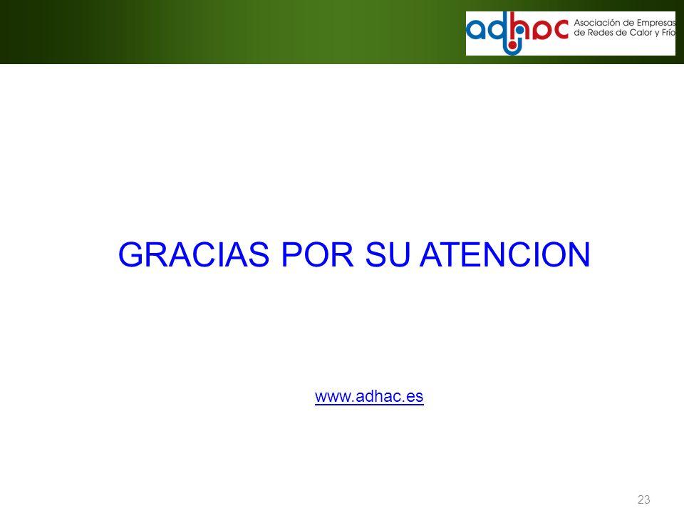 23 GRACIAS POR SU ATENCION www.adhac.es