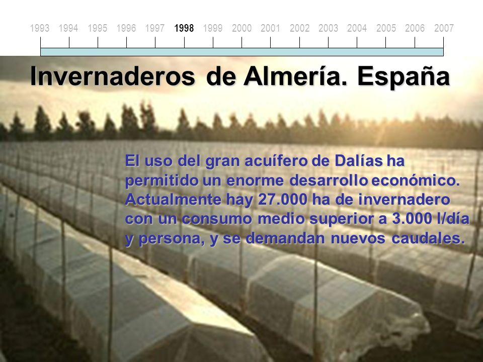 Invernaderos de Almería.