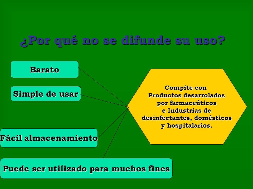 La eficacia doméstica del Agua Oxigenada La eficacia doméstica del Agua Oxigenada.