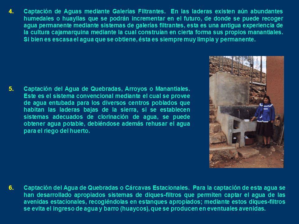 4.Captación de Aguas mediante Galerías Filtrantes.