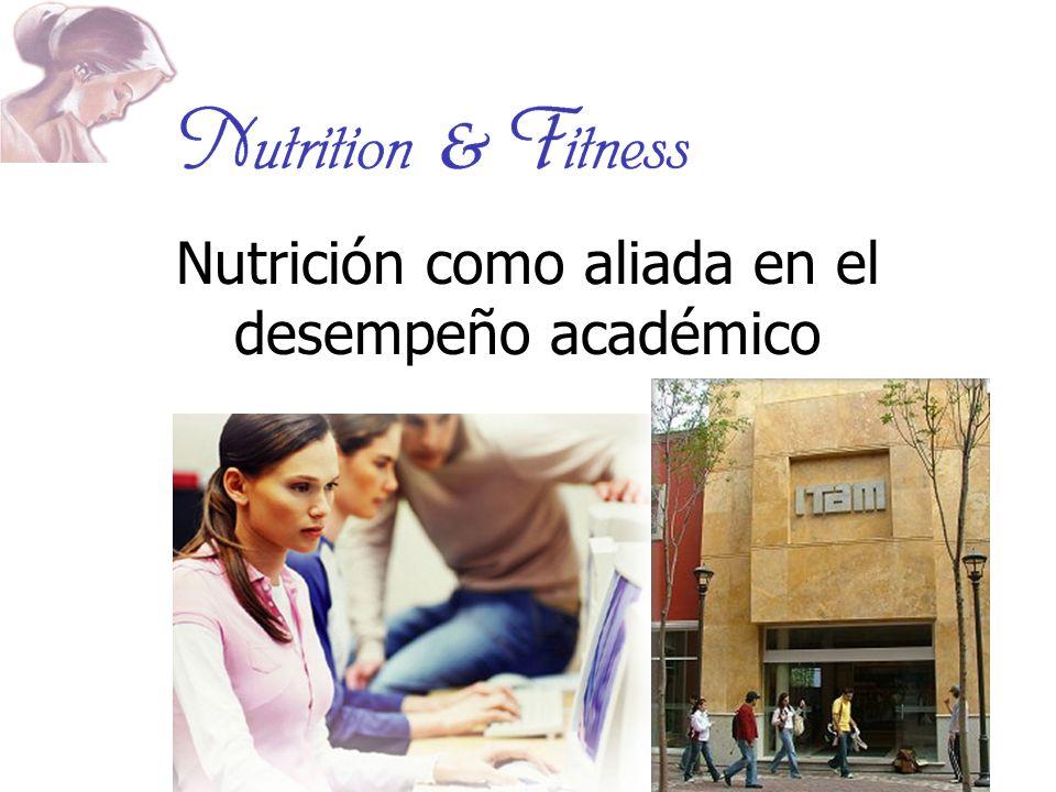 Nutrición como aliada en el desempeño académico