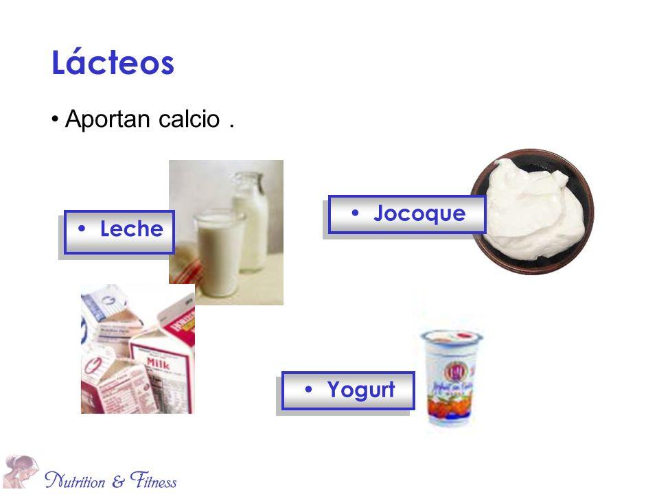 Yogurt Jocoque Lácteos Leche Aportan calcio.
